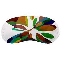 Colorful abstract flower Sleeping Masks