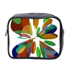 Colorful abstract flower Mini Toiletries Bag 2-Side