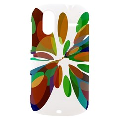 Colorful abstract flower HTC Amaze 4G Hardshell Case