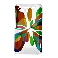 Colorful abstract flower HTC Vivid / Raider 4G Hardshell Case