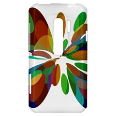 Colorful abstract flower HTC Evo 3D Hardshell Case