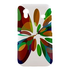 Colorful abstract flower Samsung Galaxy Ace S5830 Hardshell Case