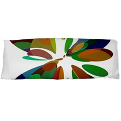 Colorful abstract flower Body Pillow Case Dakimakura (Two Sides)