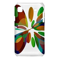 Colorful abstract flower Samsung Galaxy S i9008 Hardshell Case