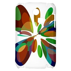 Colorful abstract flower Samsung S3350 Hardshell Case