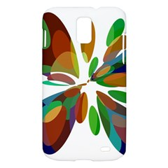 Colorful abstract flower Samsung Galaxy S II Skyrocket Hardshell Case