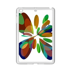 Colorful abstract flower iPad Mini 2 Enamel Coated Cases