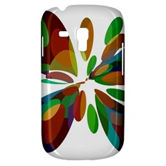 Colorful abstract flower Samsung Galaxy S3 MINI I8190 Hardshell Case