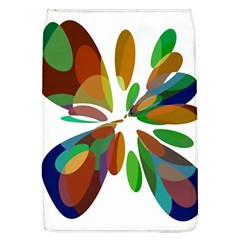Colorful abstract flower Flap Covers (L)