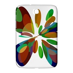 Colorful abstract flower Samsung Galaxy Note 8.0 N5100 Hardshell Case