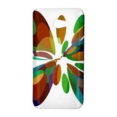Colorful abstract flower HTC Butterfly S/HTC 9060 Hardshell Case