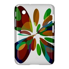 Colorful abstract flower Samsung Galaxy Tab 2 (7 ) P3100 Hardshell Case