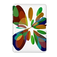 Colorful abstract flower Samsung Galaxy Tab 2 (10.1 ) P5100 Hardshell Case