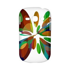Colorful abstract flower Samsung Galaxy S6810 Hardshell Case