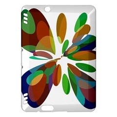 Colorful abstract flower Kindle Fire HDX Hardshell Case