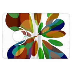 Colorful abstract flower Kindle Fire HDX Flip 360 Case