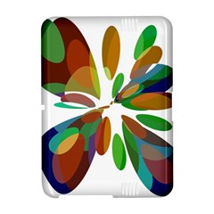 Colorful abstract flower Amazon Kindle Fire (2012) Hardshell Case