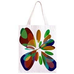 Colorful abstract flower Classic Light Tote Bag