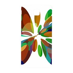 Colorful abstract flower Samsung Galaxy Alpha Hardshell Back Case