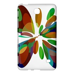 Colorful abstract flower Samsung Galaxy Tab 4 (8 ) Hardshell Case