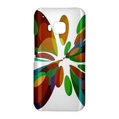 Colorful abstract flower HTC One M9 Hardshell Case