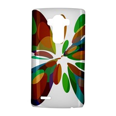 Colorful abstract flower LG G4 Hardshell Case