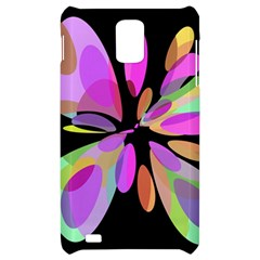 Pink abstract flower Samsung Infuse 4G Hardshell Case
