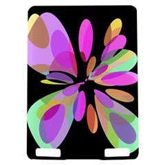 Pink abstract flower Kindle Touch 3G
