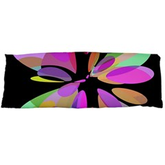 Pink abstract flower Body Pillow Case Dakimakura (Two Sides)