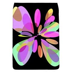 Pink abstract flower Flap Covers (L)