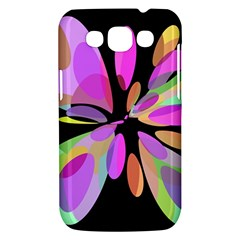 Pink abstract flower Samsung Galaxy Win I8550 Hardshell Case