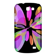 Pink abstract flower Samsung Galaxy Express I8730 Hardshell Case