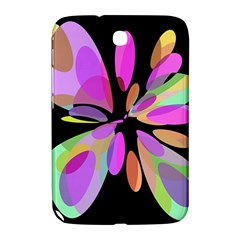 Pink abstract flower Samsung Galaxy Note 8.0 N5100 Hardshell Case