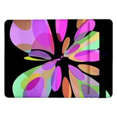 Pink abstract flower Samsung Galaxy Tab Pro 12.2  Flip Case