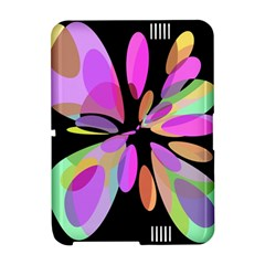 Pink abstract flower Amazon Kindle Fire (2012) Hardshell Case