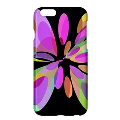 Pink abstract flower Apple iPhone 6 Plus/6S Plus Hardshell Case