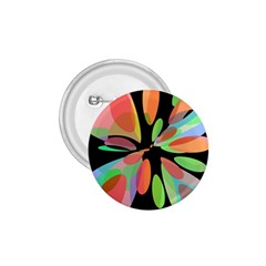 Colorful abstract flower 1.75  Buttons