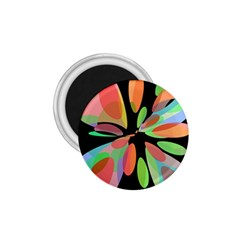 Colorful abstract flower 1.75  Magnets