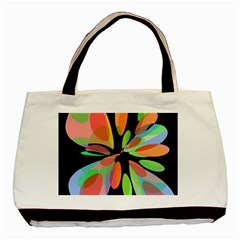 Colorful abstract flower Basic Tote Bag (Two Sides)