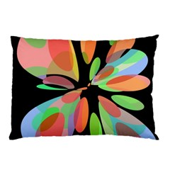 Colorful abstract flower Pillow Case