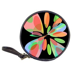 Colorful abstract flower Classic 20-CD Wallets