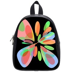 Colorful abstract flower School Bags (Small)