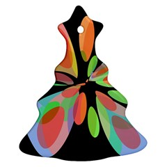 Colorful abstract flower Ornament (Christmas Tree)