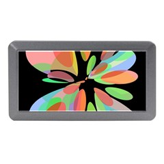 Colorful abstract flower Memory Card Reader (Mini)