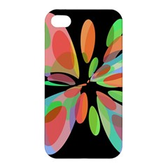 Colorful abstract flower Apple iPhone 4/4S Hardshell Case