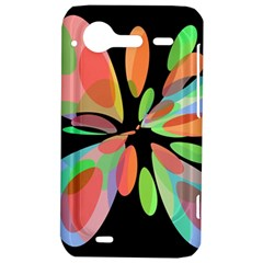 Colorful abstract flower HTC Incredible S Hardshell Case
