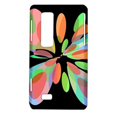 Colorful abstract flower LG Optimus Thrill 4G P925