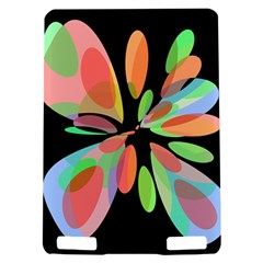 Colorful abstract flower Kindle Touch 3G