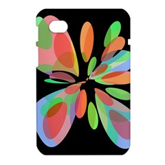 Colorful abstract flower Samsung Galaxy Tab 7  P1000 Hardshell Case