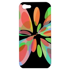 Colorful abstract flower Apple iPhone 5 Hardshell Case